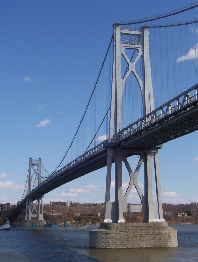 Mid Hudson Bridge looking southeast
