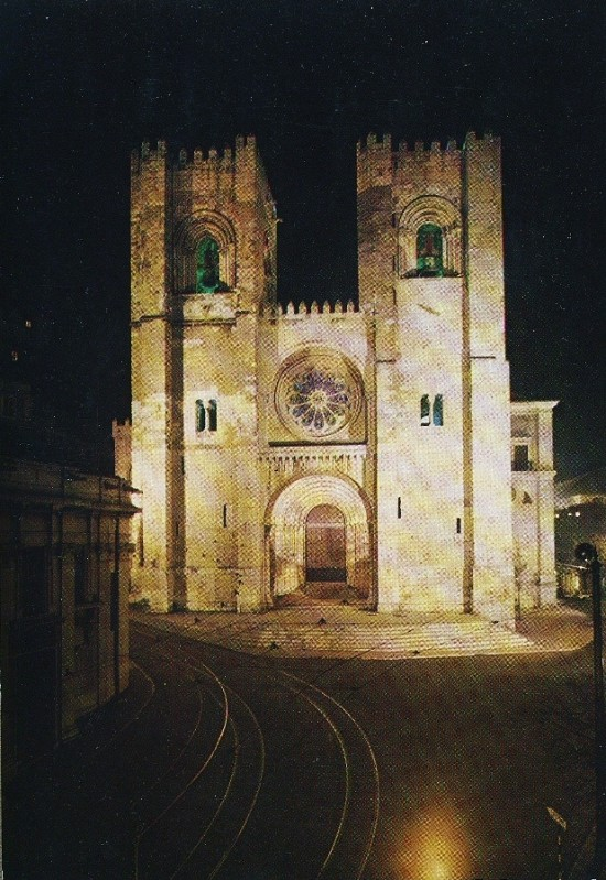 LISBON CATHEDRAL, 1985