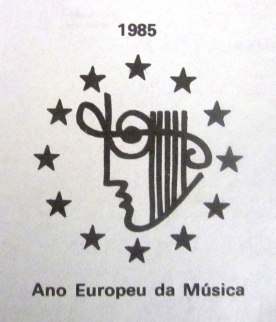 LOGO EUROPEAN YEAR OF MUSIC, 1985 - IMG_2056