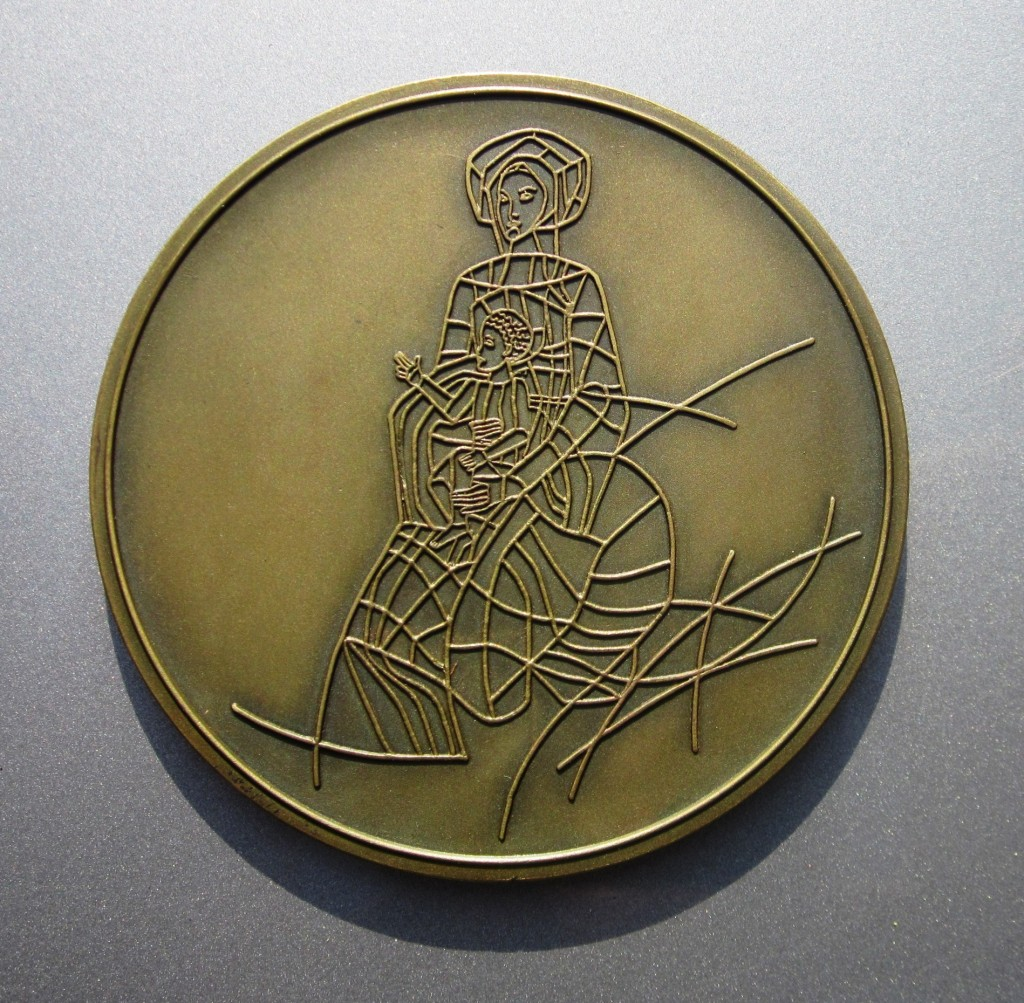 MEDAL FROM PORTO-BACK
