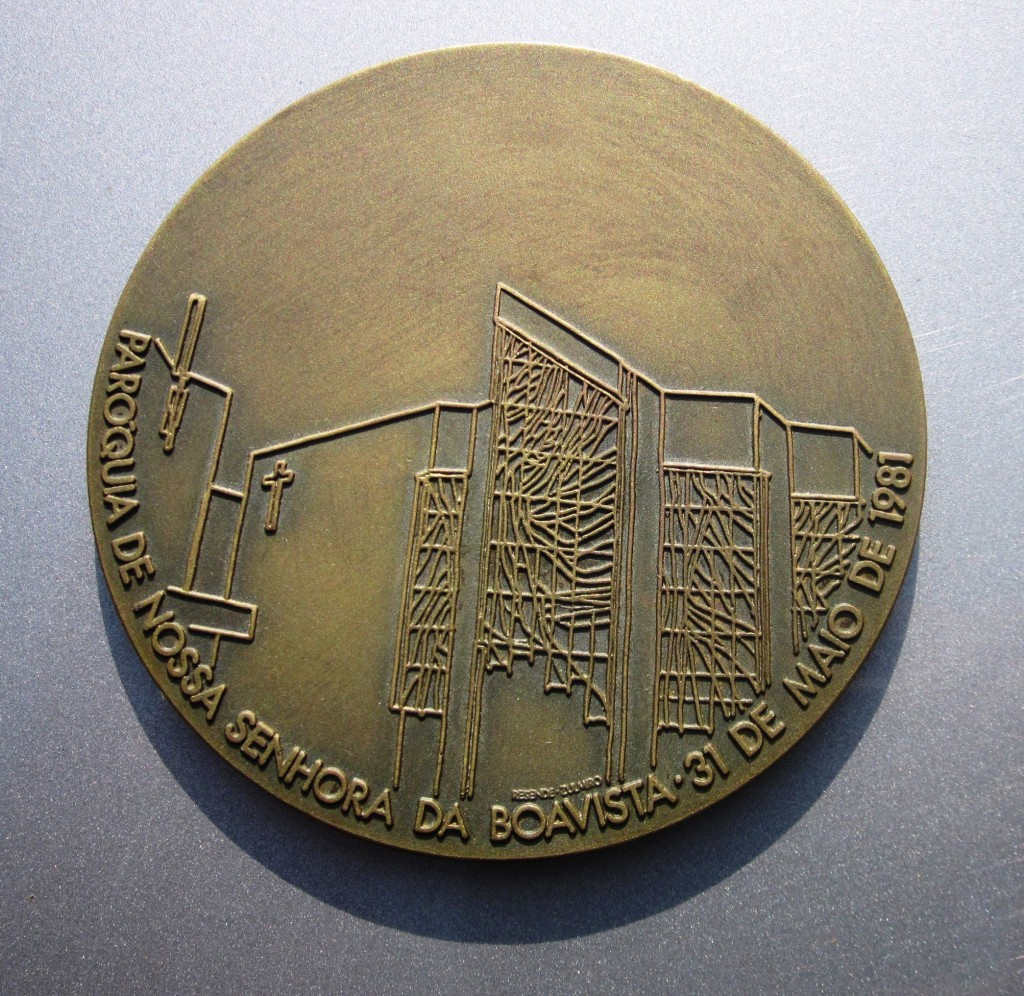 MEDAL FROM PORTO-FRONT
