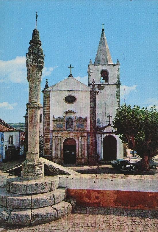 IGREJA MATRIZ DE SANTA MARIA & CENTRAL SQUARE, OBIDOS-1985