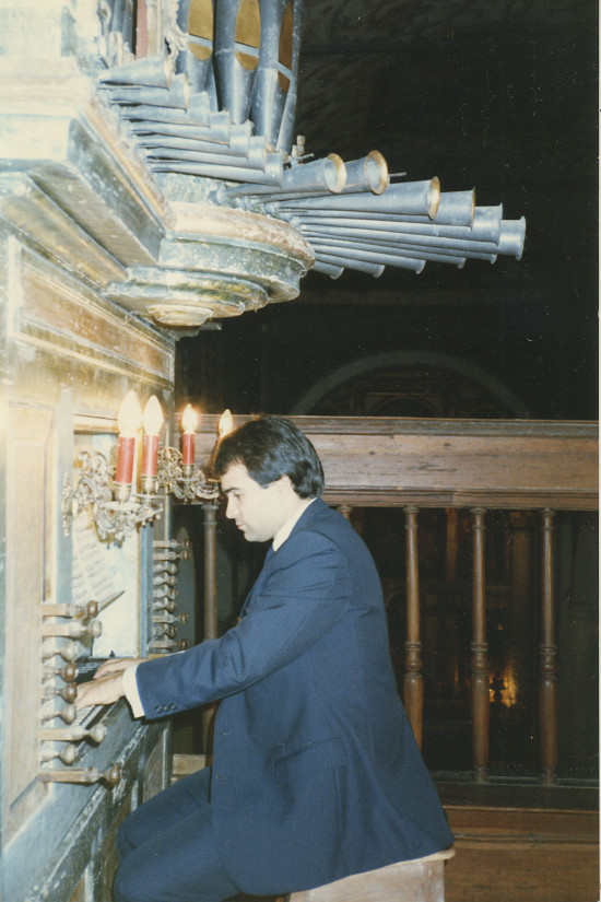OBIDOS - JOSEPH BERTOLOZZI CONCERT TOUR -1985
