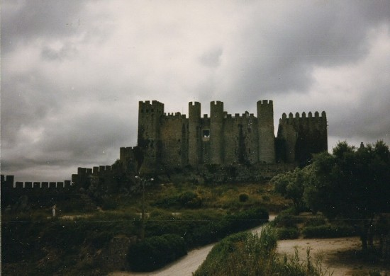 OBIDOS - THE CITY WALLS - 1985