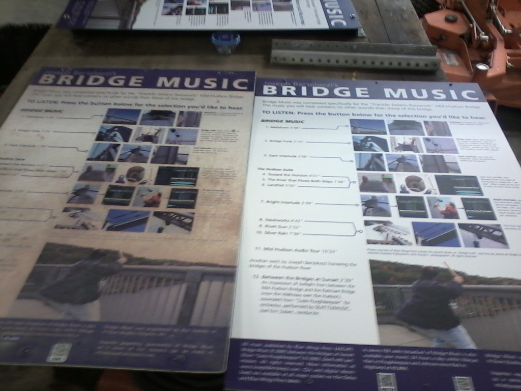 SUNBURNED SIGN-BRIDGE MUSIC