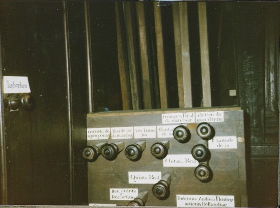 EVORA CATHEDRAL - STOP KNOBS, 1985