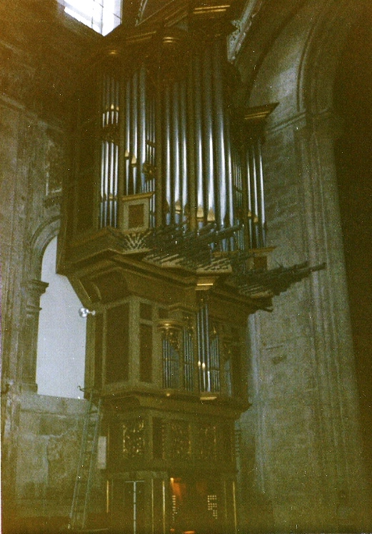 LISBON CATHEDRAL 1964/2012 Flentrop organ