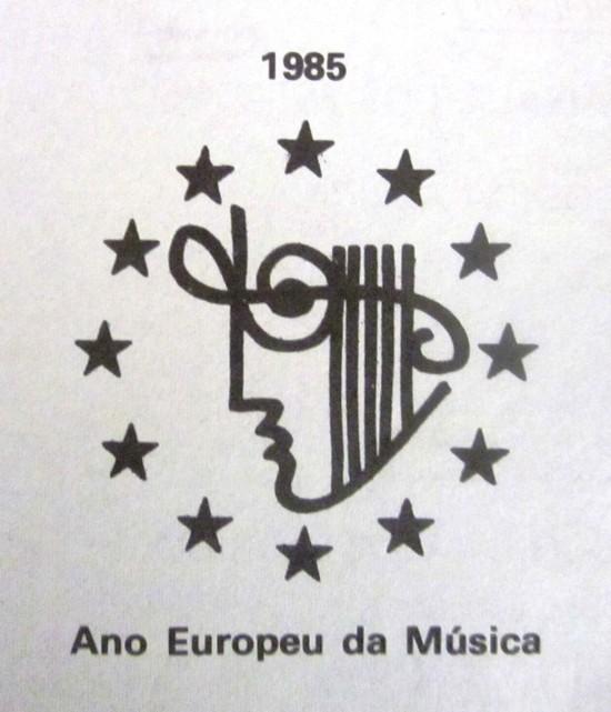 LOGO EUROPEAN YEAR OF MUSIC, 1985 - IMG_2056