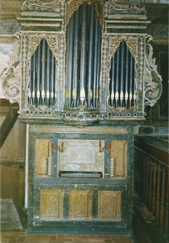 OBIDOS - THE ORGAN at IGREJA MATRIZ SANTA MARIA - 1985