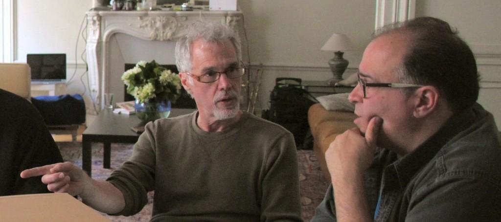 PAUL KOZEL & JOSEPH BERTOLOZZI, PARIS 2013. IMG_2038, Image c. 2013, Franc Palaia