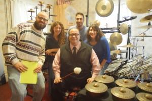SUNY DOC FILM CREW 3.26.15 - Kevin O'Connor, Shia, Joseph Bertolozzi, Dante Corrocher, Laura