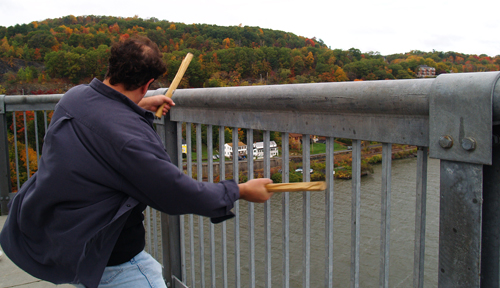 BRIDGE MUSIC - BERTOLOZZI DRUMMINGPhoto: c 2007, Bob Rozycki for Westfair Business Publications